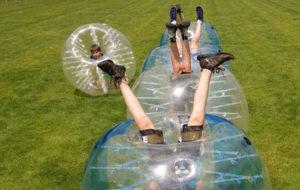 Bubbel Ball als Teamevent