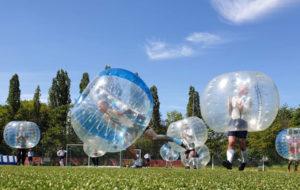Spiel ohne Grenzen: Bubbleball