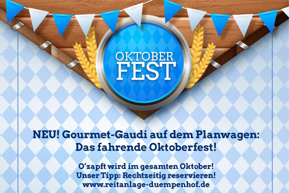Oktoberfest am Niederrhein